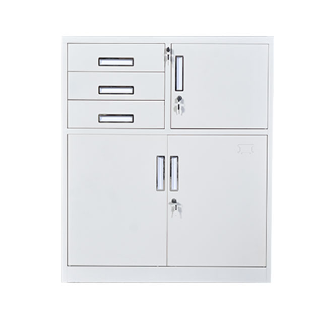 Cabinet with 3 Drawers and 1 Safe (W-P-3DS)