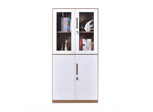 steel cabinet with glass door (W-EQ-CW)